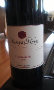 morgan ridge chambourcin